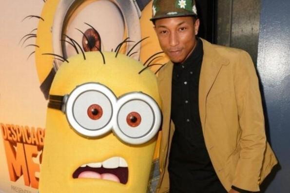 ¡Una vez más! Pharrel Williams pone a bailar a los minions en 'Mi villano favorito 3' (+VIDEO)